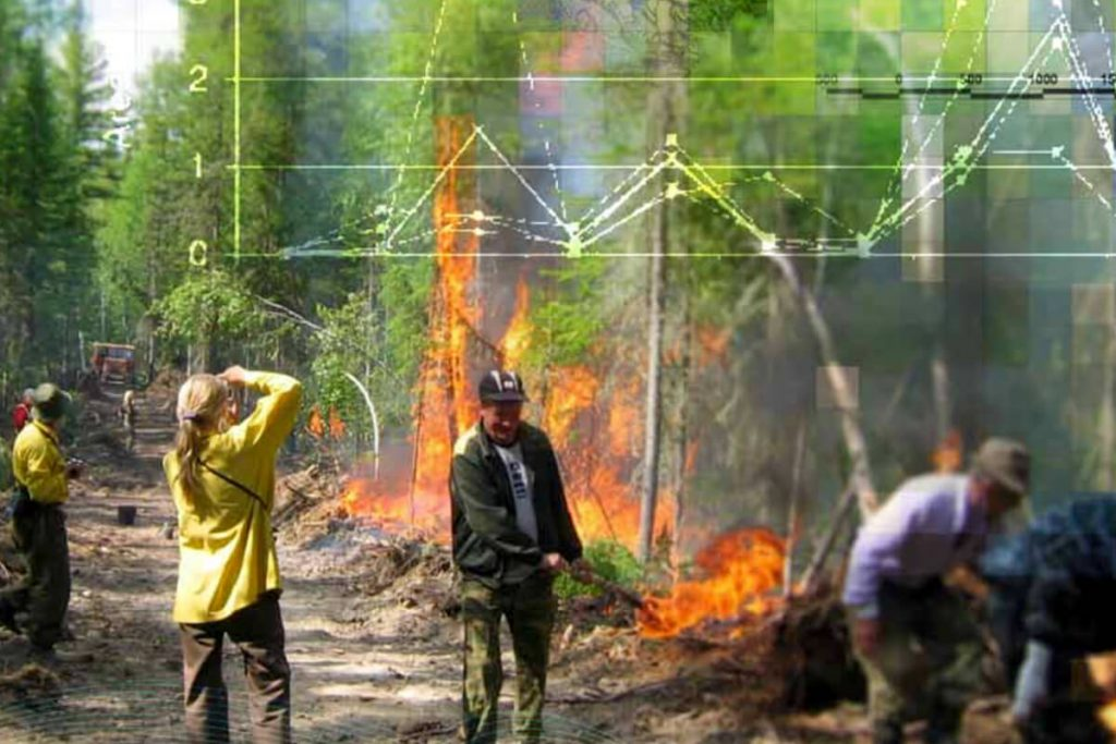 Fire research by NIA researcher Amber Soja