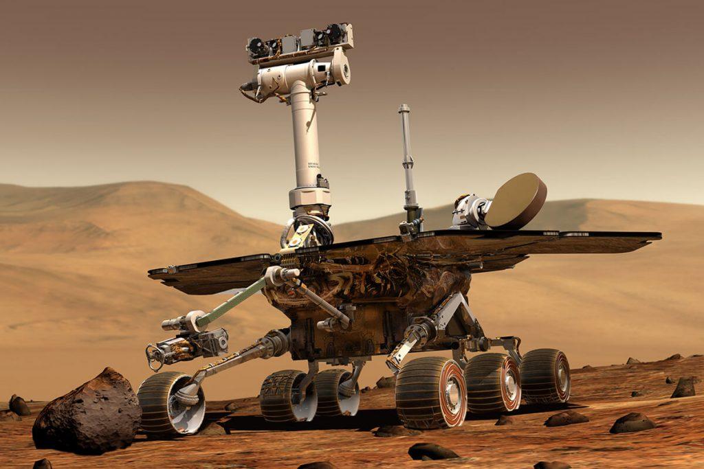 Mars rover technology
